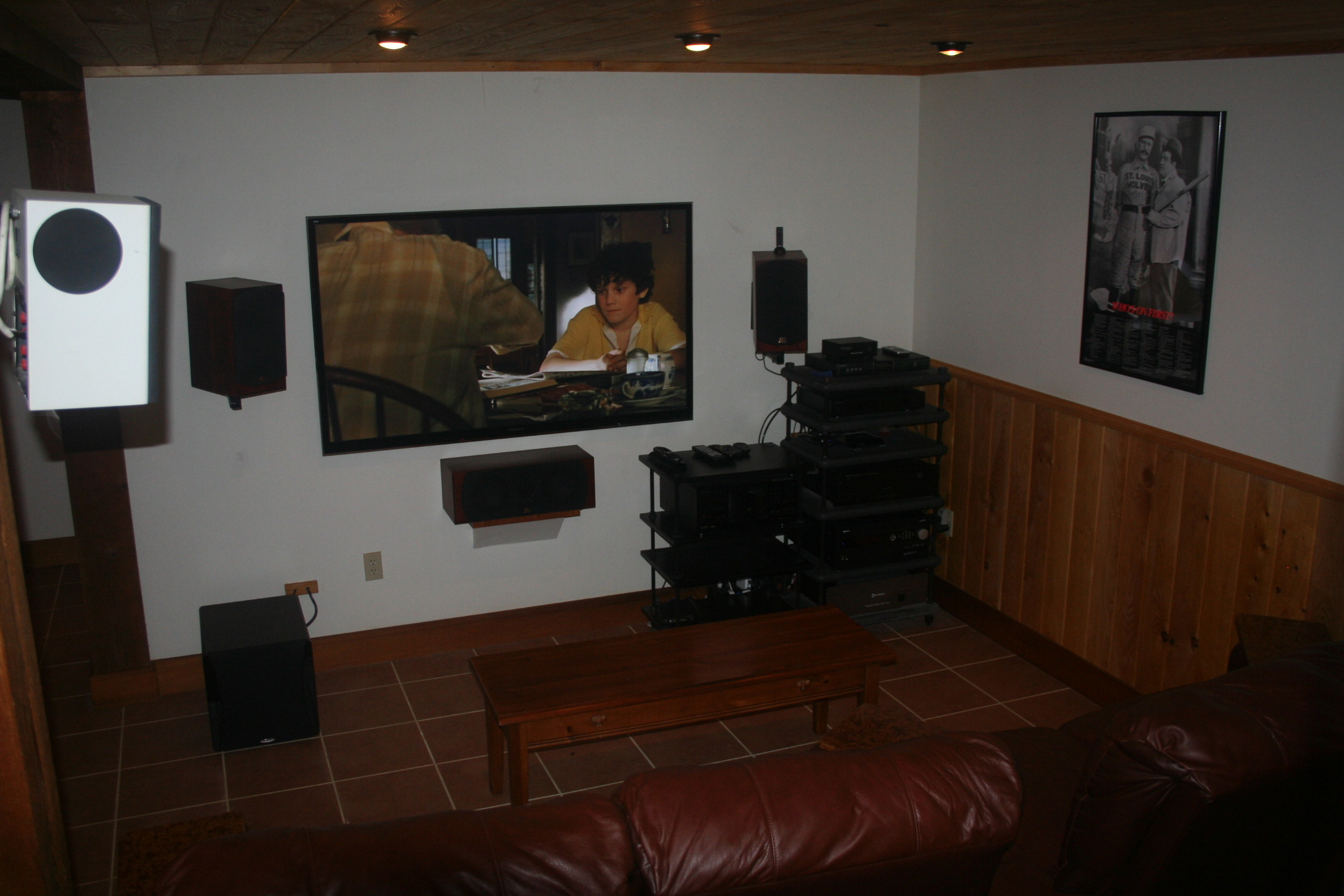 Home Theater Bottom Floor