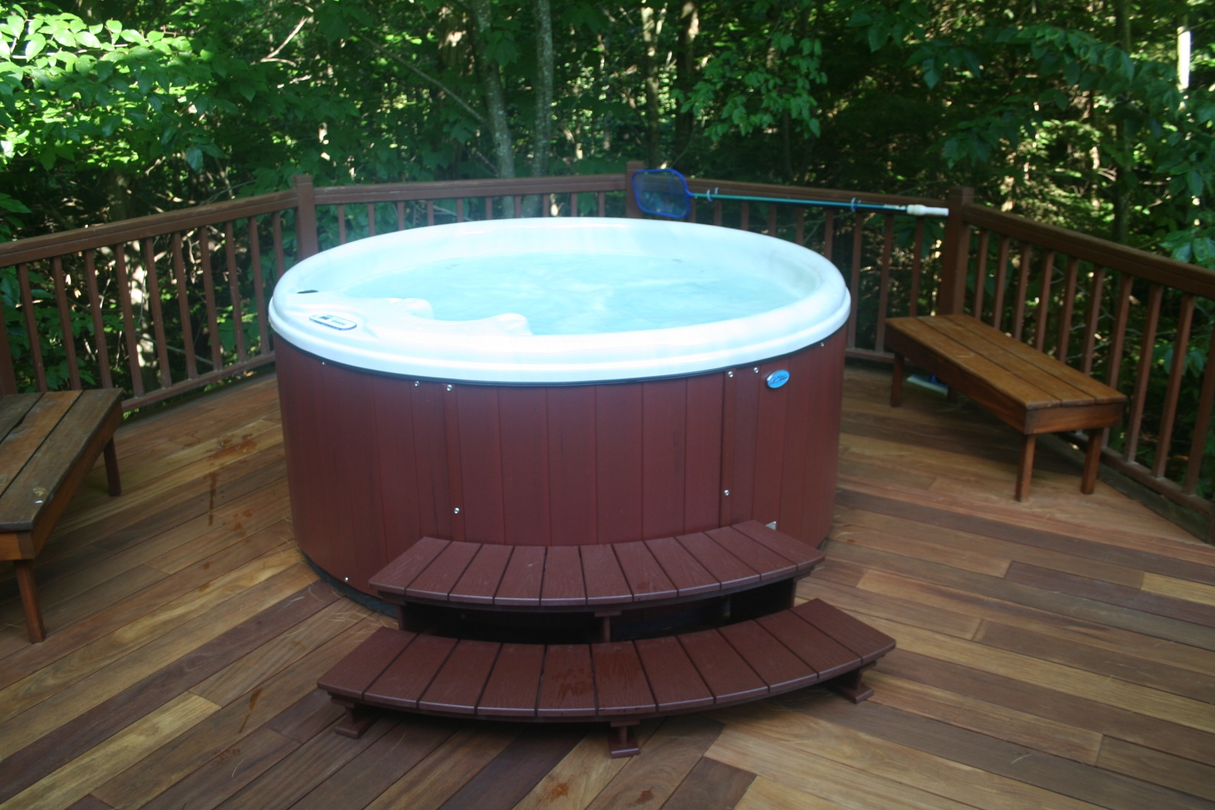 New Hot Tub 2017